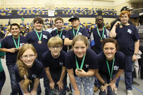 Middle School Robotics Team - First Lego League